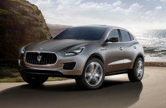 Maserati выпустит кроссовер Levante