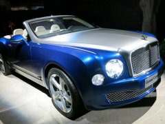 Bentley Grand Convertible Concept 2015