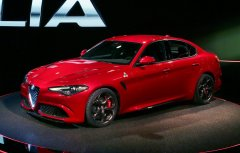 Новый седан Giulia 2016 от Alfa Romeo