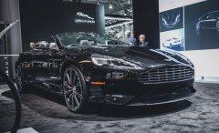 Презентация рестайлингового Aston Martin Vanquish 2015