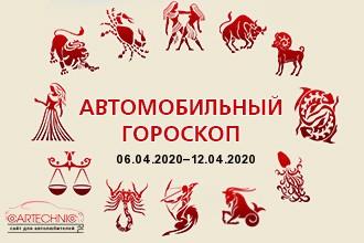 Автогороскоп 06.04.2020–12.04.2020