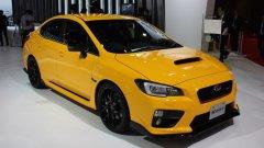 Subaru презентовала в Токио концептуальный хэтч Impreza и 328-сильную версию седана STI