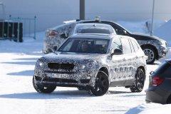 BMW тестирует новое поколение X3