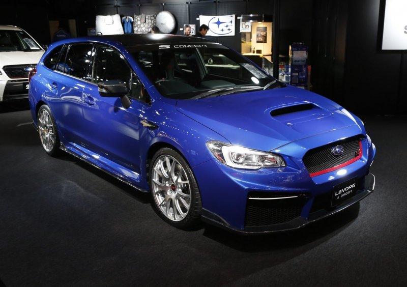 Subaru Levorg STI - спортивная версия универсала