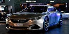Peugeot 408 GT 2017 станет первым флагманским автомобилем французского автопроизводителя