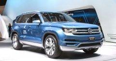 Премиальный внедорожник Volkswagen Touareg 2017 получит новые двигатели и полностью переработанный дизайн
