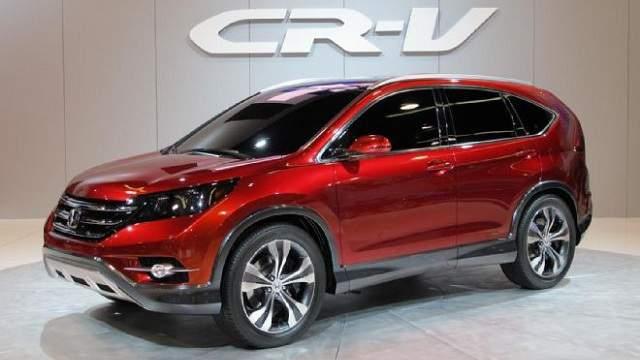 Honda CR-V 2017 в России: фото и технические ...