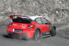 Концерном Ситроен был представлен ралли-кар C3 WRC
