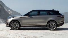 Продажи Range Rover Velar в России начнутся в октябре