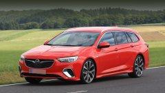 Opel показал спортивную модификацию универсала  Insignia GSi Sport