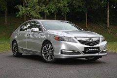 В Honda представили обновленную модель флагманского седана Legend