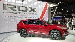 На Детройском автосалоне состоялась презентация кроссовера Acura RDX