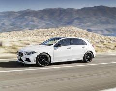 Хэтчбек Mercedes-Benz A-класса полностью готов к презентации на Женевском автосалоне