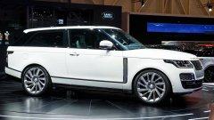 На Женевском автосалоне состоялась демонстрация Range Rover SV Coupe