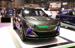 Компания SsangYong представила очередной концепт электромобиля