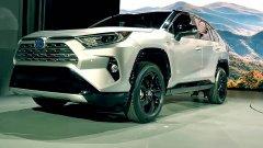 В Нью-Йорке состоялась презентация 5-го поколения кроссоверов Toyota RAV4