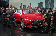 В Пекине был представлен кросс-седан Mercedes-Maybach Ultimate Luxury