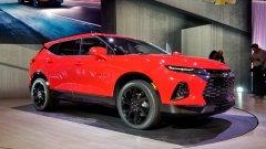 Компания  Chevrolet представила кроссовер Blazer