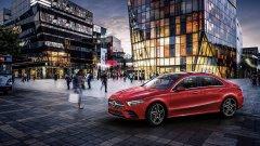 Состоялся презентация европейского варианта седана Mercedes-Benz A-класса