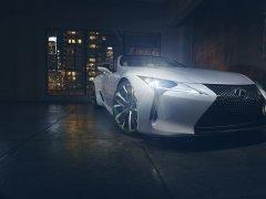 Кабриолет Lexus LC «Concept» готов к презентации