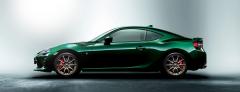 Компания Тойота выпустила ограниченную серию Toyota 86 British Green Limite
