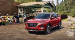 Hyundai рассекретил обновлённый Santa Fe