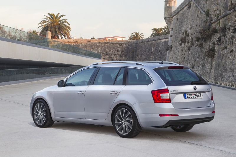 Skoda Octavia Combi 4х4 Laurin & Klement