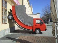 Забавные видео с грузовиками