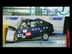 Краш тесты Русских авто