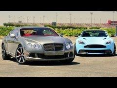 Aston Martin Vanquish vs Bentley Continental GT