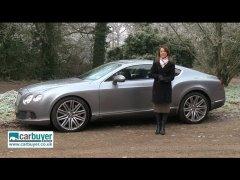 Bentley Continental GT смотреть