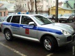Полицейские машины России
