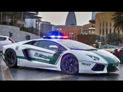 Полицейские машины Дубая