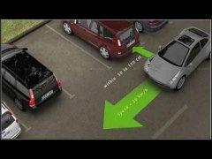 Правильная парковка автомобиля
