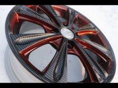 Диск R15 Mazda, в карбон+комбинирование (аквапечать Томск)
