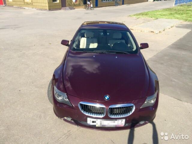 BMW 6-серия 2007