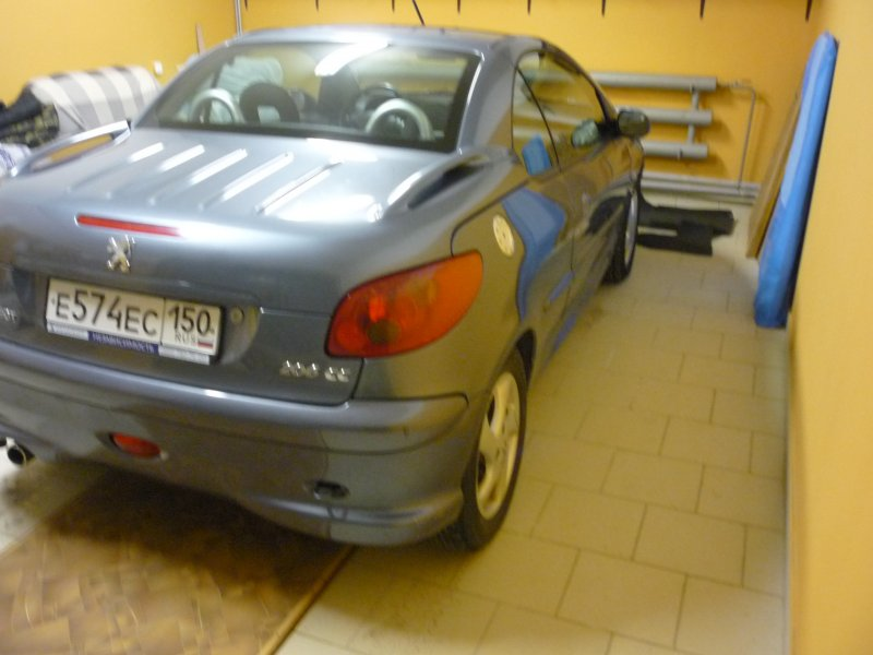 Peugeot 206 CC 2007