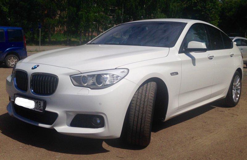 BMW 5 серия Гран Туризмо 2012