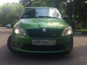 SKODA Fabia RS 2011