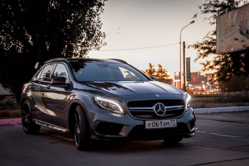 Фотографии Mercedes Benz Gla Klasse Amg