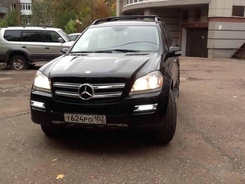 Фотографии Mercedes Benz Gl Klasse