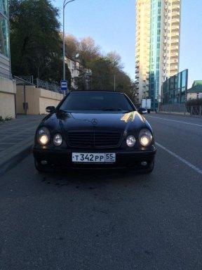 Mercedes-Benz CLK-klasse 2000