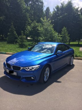 BMW 4 Gran Coupe 2016